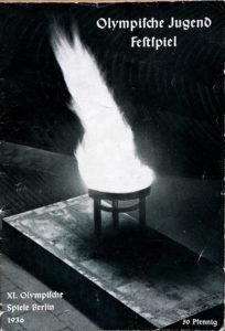 Olympia 1936 Programmheft zur Eröffnung