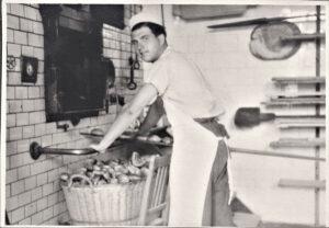 als Bäcker in Bebra 1948-50