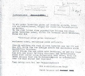 Abschiedsbrief an die Partei 1965